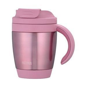 【商品名】 【THERMOS サーモス】 真空断熱 マグカップ 【ピンク】 270ml 軽量 コンパ...