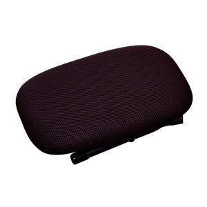 折りたたみ ローチェア 〔ブラウン×ブラック〕 幅31cm 重さ1.3kg 日本製 スチール 通気性...