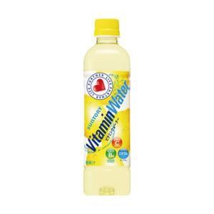 【商品名】 (まとめ)サントリー ビタミンウォーター 500ml 1箱(24本)【×2セット】
