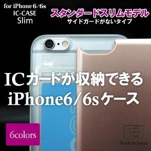 アイクレバーiPhone6/6sカバーパスケース スタンダードスリム