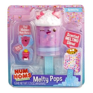 Num Noms Snackables Melty Pops Melon Pop with Scented Melting Slime