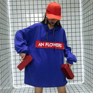 67e15251fd08d 韓国 原宿系 ファッション レディース 長袖 パーカー カラフル ダンス 衣装 派手 服 個性的 送料無料
