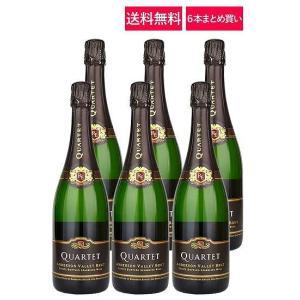 """ワイン スパークリングワイン 送料無料 6本まとめ買い ロデレール・エステート """"カルテット"""" アン..."""