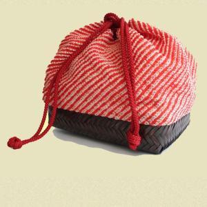 疋田絞り 籠巾着バッグ|shibokusansou