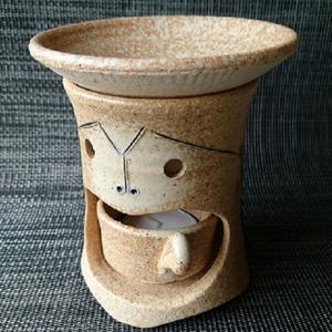 笠間焼 茶香炉セット|shibokusansou