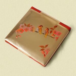 コンパクトミラー 花鳥|shibokusansou