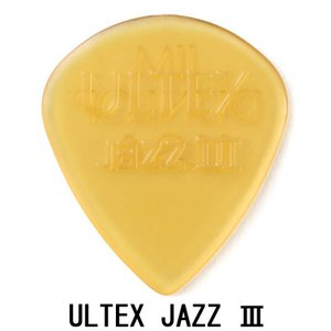 Dunlop (Jim Dunlop) 427 ULTEX Jazz III Picks×10枚セット|shibuya-ikebe