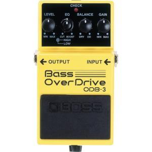 BOSS ベース用オーバードライブ ODB-3 Bass Over Drive    / IKEBE×BOSSオリジナルデザイン缶クージープレゼント|shibuya-ikebe