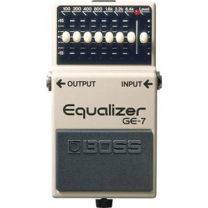 BOSS イコライザー GE-7 (Equalizer)  IKEBE×BOSSオリジナルデザインピックケースプレゼント|shibuya-ikebe