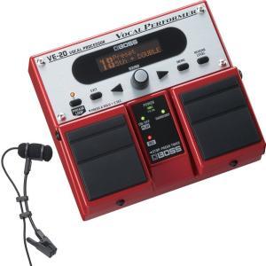 BOSS VE-20 + audio-technica / PRO35 クリップマイクセット|shibuya-ikebe