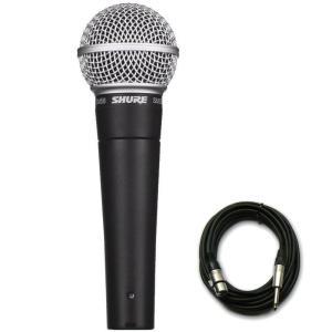 SHURE / SM58-LCE マイクケーブルセット(XLRメス-フォン)(3.0m)