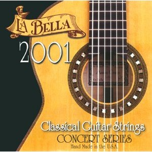 La Bella ラベラ クラシックギター弦 2001 Classic Guitar Strings HARD TENSION|shibuya-ikebe
