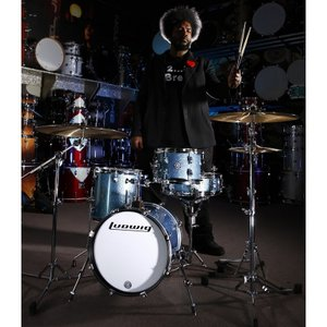 "Ludwig ドラムセット LC179X023DIR [BREAKBEATS OUT FIT / AHIMIR ""?UESTLOVE"" THOMPSON Collaboration]