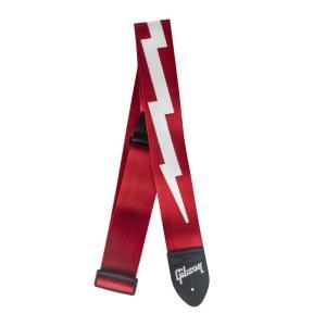 "Gibson Lightning Bolt Style 2"" Safety Strap (Ferra..."