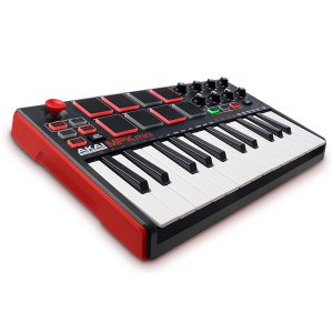 Akai Professional USB MIDIキーボードコントローラー 8パッド MPK mini MK2