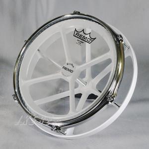 "REMO Roto-Tom ""WHITE"" 10 inch 【Drum Station Custom】 【特注品】 shibuya-ikebe"
