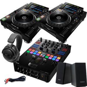 Pioneer DJ / CDJ-2000NXS2+DJM-S9+PM0.1+ATH-PRO5X S...