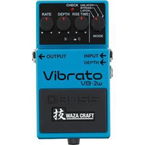BOSS ビブラート VB-2W Vibrato 技 Waza Craft    / IKEBE×BOSSオリジナルデザイン缶クージープレゼント|shibuya-ikebe