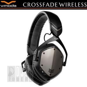 V-MODA Crossfade Wireless (Gunmetal Black)(国内正規品1年保障)|shibuya-ikebe