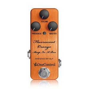One Control Fluorescent Orange Amp In A Box shibuya-ikebe