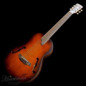 K.Yairiのミニギター「Nocturne」fホールモデル!  日本が世界に誇る、国産アコースティ...