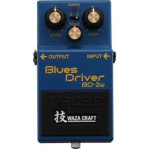 BOSS BD-2W(J) [MADE IN JAPAN] [Blues Driver 技 Waza Craft Series Special Edition] 【IKEBE×BOSSオリジナルデザインピックケースプレゼント】|shibuya-ikebe