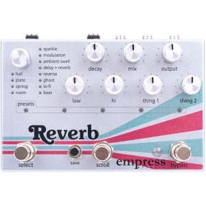 Empress Effects Reverb 【High-Quality Stereo Reverb】|shibuya-ikebe