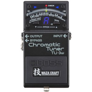 "BOSS TU-3W(J) ""MADE IN JAPAN"" [Chromatic Tuner 技 Waza Craft Series Special Edition] 【IKEBE×BOSSオリジナルデザインピックケースプレゼント】
