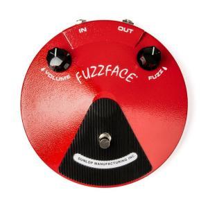 Dunlop (Jim Dunlop) ジムダンロップ ファズ FUZZ FACE [JDF2 RED]|shibuya-ikebe