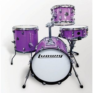 Ludwig ドラムセット LC179X007 [BREAKBEATS OUT FIT / LIMITED PURPLE SPARKLE] 【日本限定発売モデル】|shibuya-ikebe