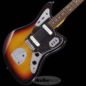 Fender Made in Japan Traditional 60s Jaguar (3-Tone Sunburst) [Made in Japan] 【数量限定!ギターアンプ VOX Pathfinder10プレゼント!!】|shibuya-ikebe
