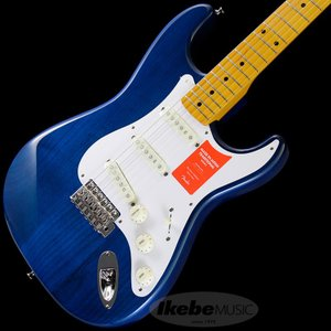Fender Made in Japan Traditional 58 Stratocaster (Sapphire Blue Trans) [Made in Japan]  【数量限定!ギターアンプ VOX Pathfinder10プレゼント!!】|shibuya-ikebe
