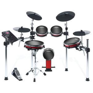 ALESIS CRIMSON II KIT [Nine-Piece Electronic Drum Kit with Mesh Heads] 【入荷待ち:次回4月末予定】 shibuya-ikebe