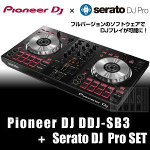 Pioneer DJ / DDJ-SB3 + Serato DJ Pro ライセンスセット|shibuya-ikebe