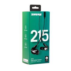 SHURE / SE215-K-UNI(ブラック)(SE215-K-UNI-A)(国内正規品・2年間保証)|shibuya-ikebe