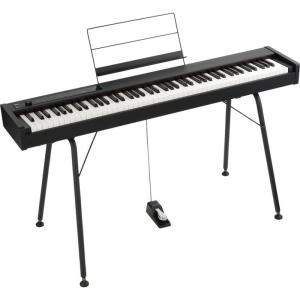KORG / DIGITAL PIANO D1+専用スタンド「ST-SV1-BK」セット【発売記念特典!ワイヤレス(赤外線)ヘッドホン付き(数量限定)】|shibuya-ikebe