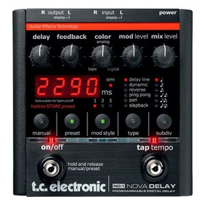 tc electronic ディレイ ND-1 NOVA DELAY ※国内正規品 |shibuya-ikebe