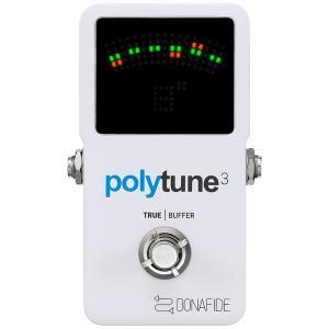 TC electronic ポリフォニックチューナー POLYTUNE 3 国内正規品|shibuya-ikebe