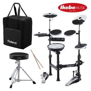 ROLAND ローランド 電子ドラムセット TD-4KP-S [V-Drums Portable] + PDX-6 & MDH-12 + CB-TDP イス&ペダル&スティック付属|shibuya-ikebe