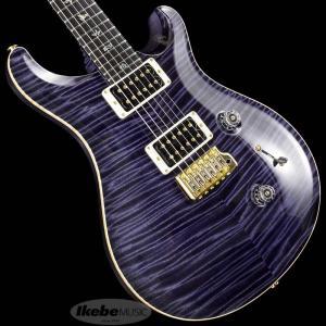 PRS Private Stock #7285 Custom24 Flame Neck Dark Purple 【数量限定!!オリジナルフレットガードプレゼント】