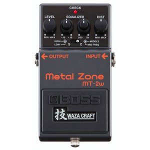 """BOSS ディストーション MT-2W """"MADE IN JAPAN"""" [Metal Zone 技 Waza Craft Series Special Edition] IKEBE×BOSSオリジナルデザインピックケースプレゼント