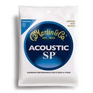 数量限定特価品  マーチン弦の最高峰「SP」のブロンズ弦。 強度の高い芯線と最高品質の巻線で作られて...