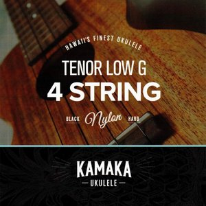 Kamaka S-3G Tenor Black Nylon Low-G