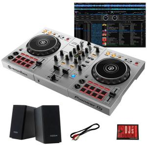 "Pioneer DJ / DDJ-400-S ""シルバー""  + PM0.1e スピーカーセット 国内池部楽器店限定モデル|shibuya-ikebe"