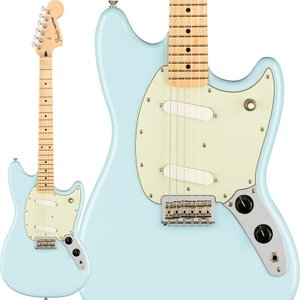 Fender フェンダー エレキギター Player Mustang (Sonic Blue/Map...