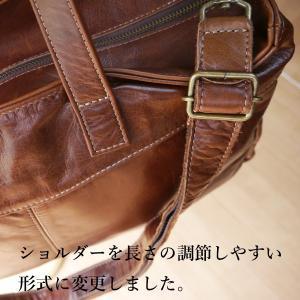 ボストンバッグ 革 ショルダー付き クラシコ2 305020|shibuya-kabankoubou|07