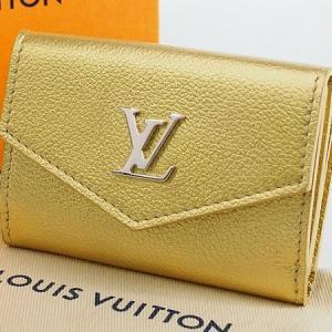 ◆ミウラ◆ルイヴィトン ポルトフォイユ ロック ミニ 財布 日本限定 M69059 ゴールドカラー 新品★ shichi-miura