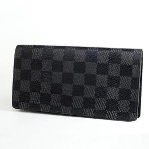◆ミウラ◆ルイヴィトン ダミエ グラフィット ポルトフォイユ ブラザ 二つ折り長財布 N62665 shichi-miura
