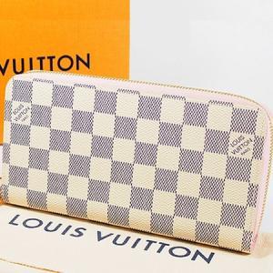 ◆ミウラ◆ルイヴィトン ダミエアズール ジッピーウォレット ローズバレリーヌ 長財布 N63503 新品 shichi-miura