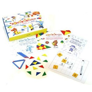 マッチ棒で形を作ったり、魔方陣を完成させたり、脳を鍛えるゲーム〜全脳力めきめきアップセット|shichida